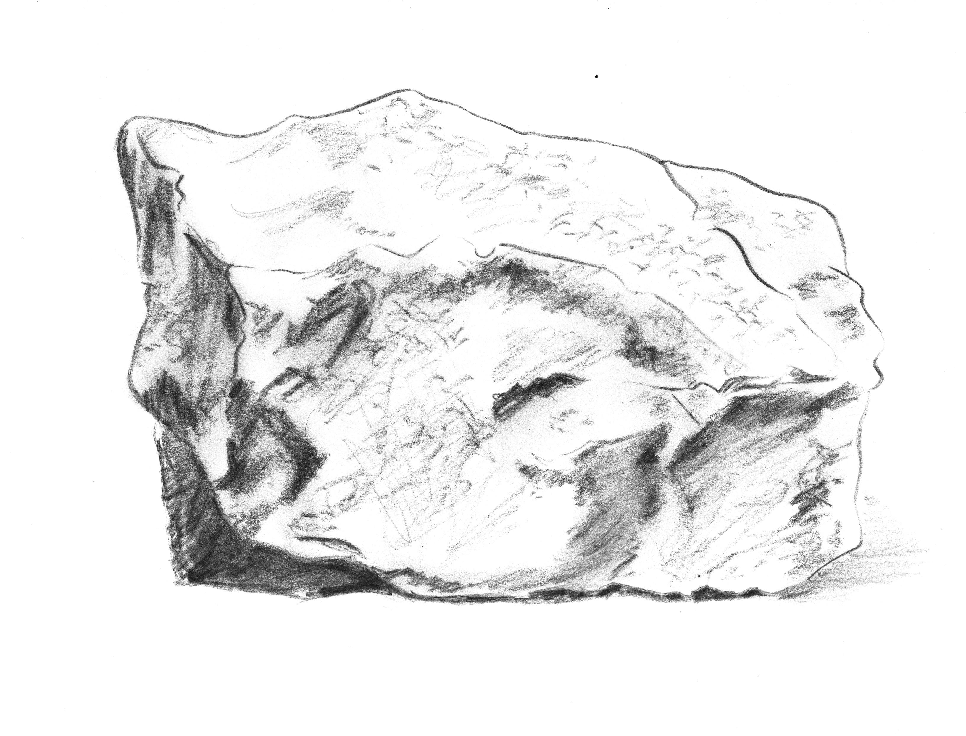 Картинки рисунок камень